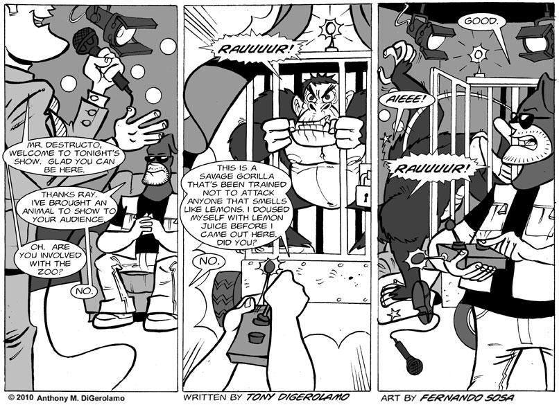 Tony Destructo #8: Tony Destructo is with Coco