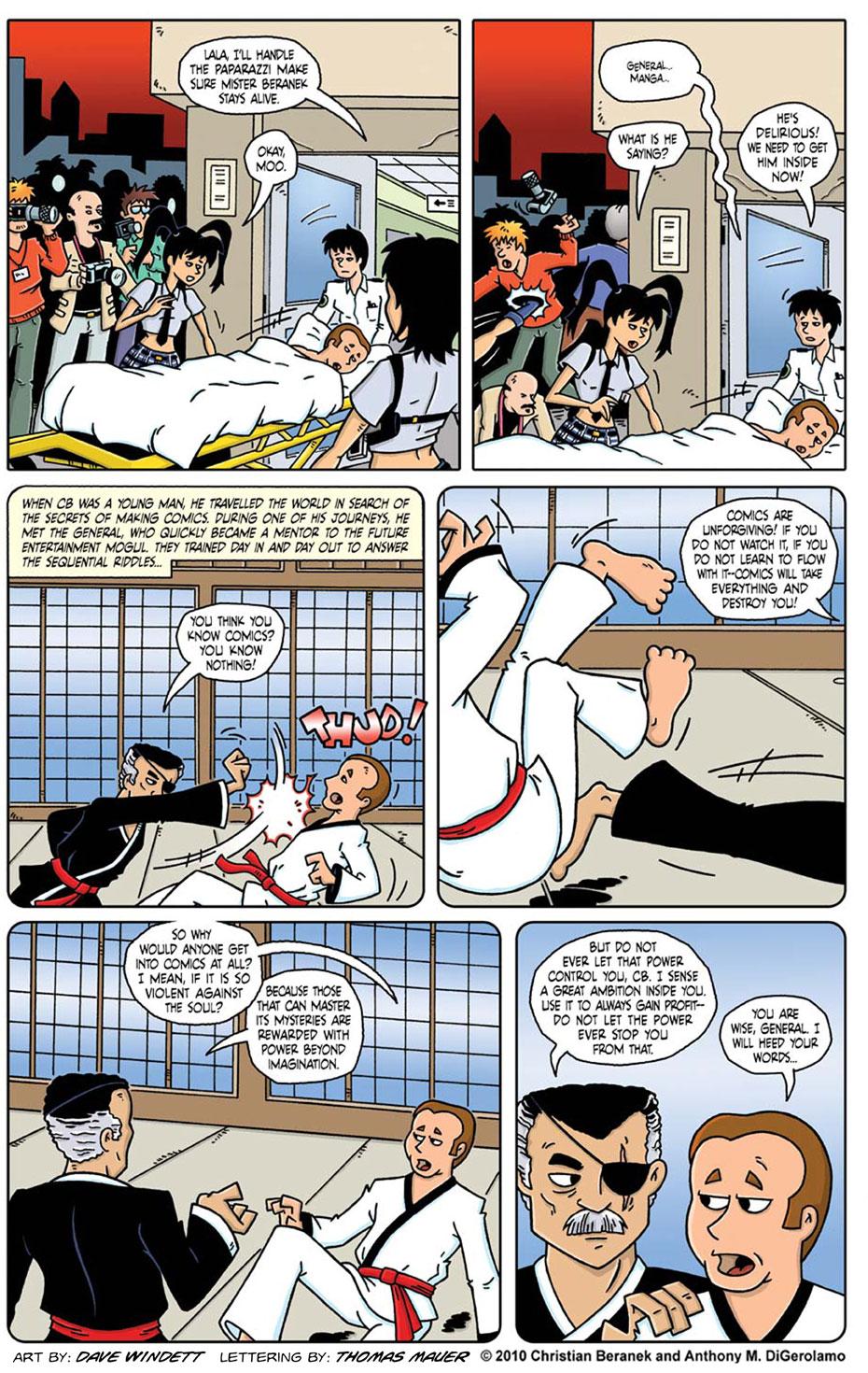 Comic Book Mafia #16: The Secret Origin of CB