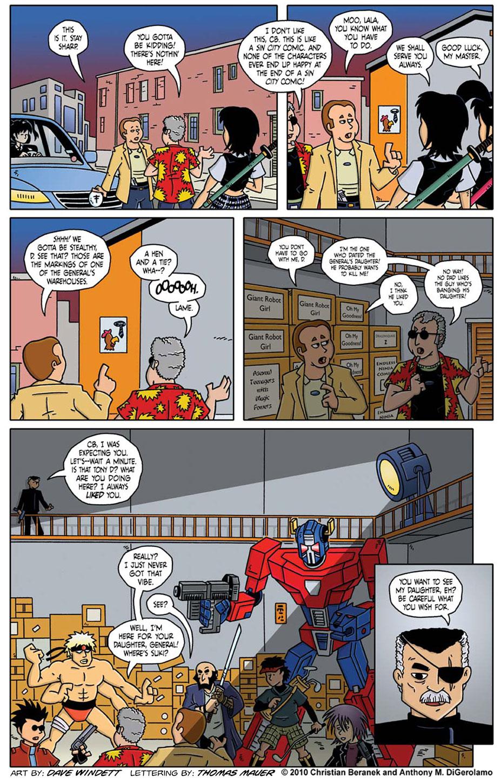 Comic Book Mafia #20:  Mangatown Showdown