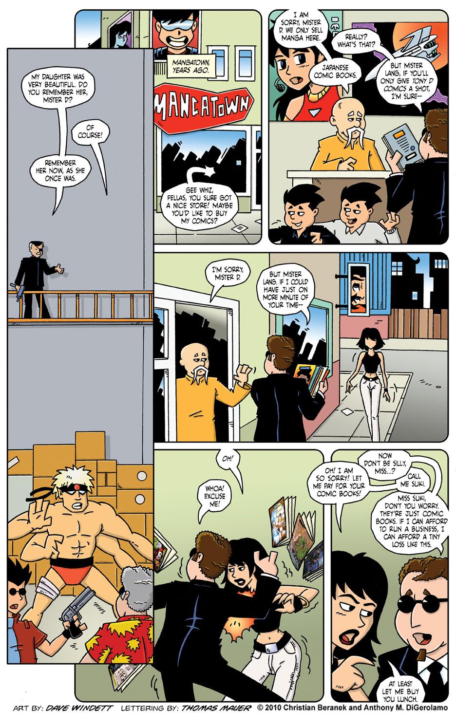 Comic Book Mafia #21: The Secret Origin of Tony D