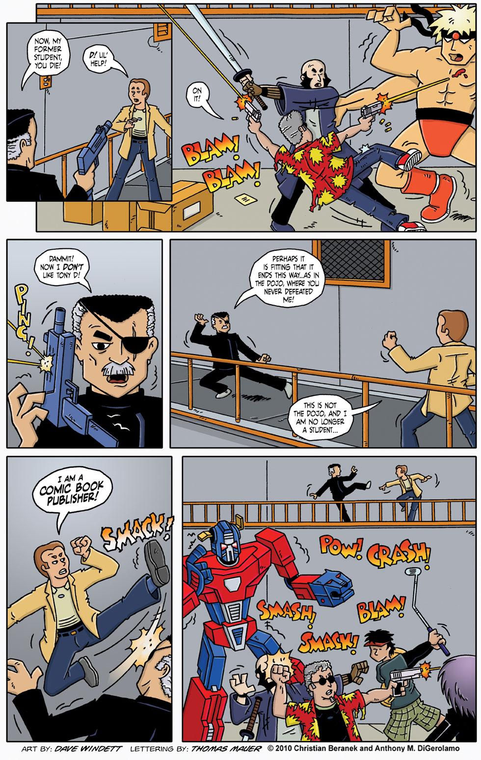 Comic Book Mafia #26: A Reason Not to Like Tony D