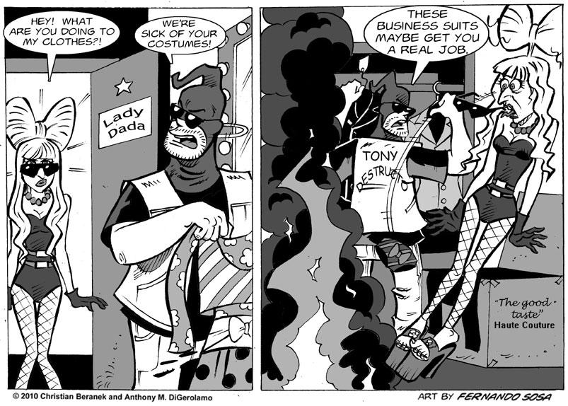 Tony Destructo #30: Fa-Fa-Fa-Fa-Fashion