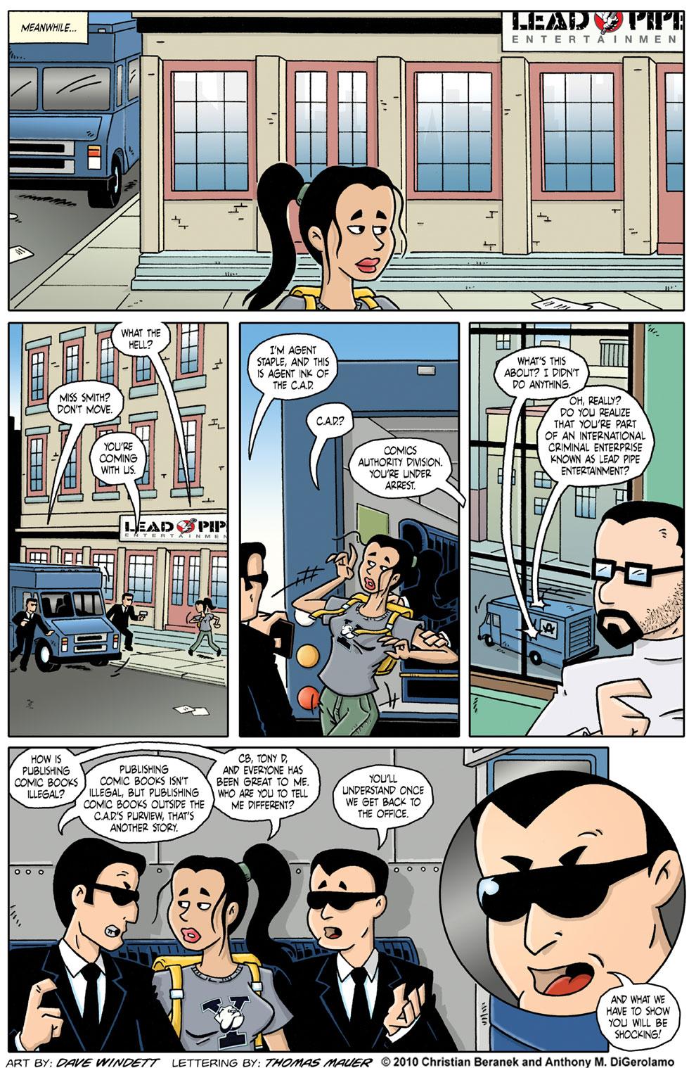 Comic Book Mafia: The Comics Authority Division