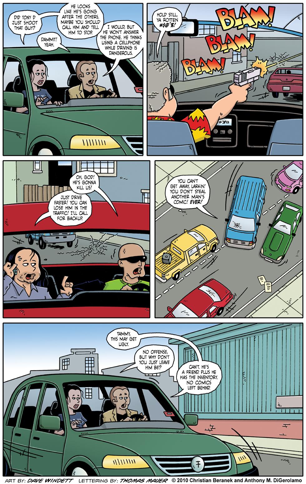 Comic Book Mafia #39: A Safe Driver