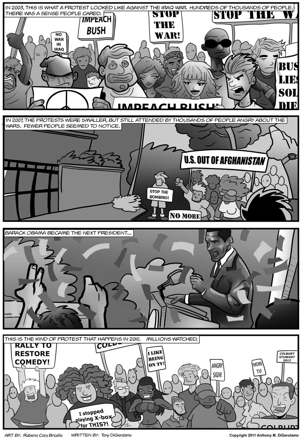 The Antiwar Comic:  Protesting in the 21st Century