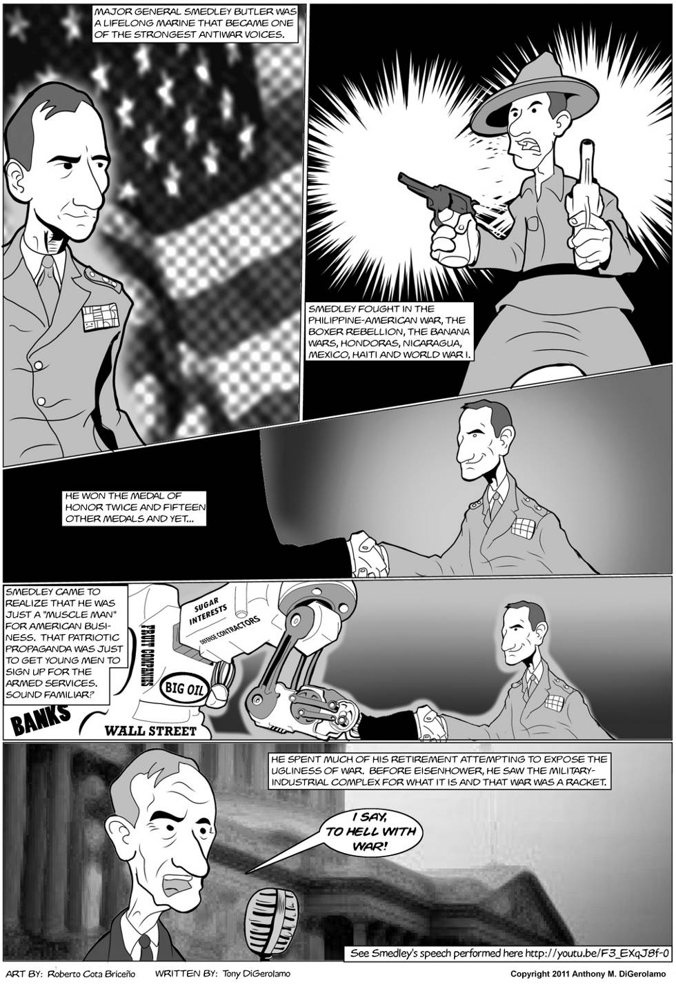 The Antiwar Comic:  The General That Hated War