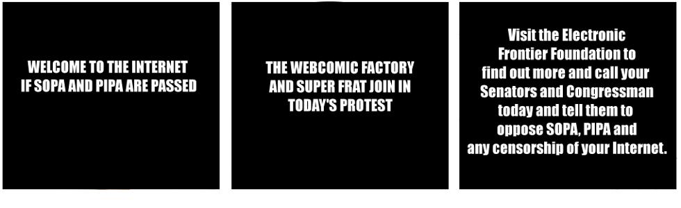 SOPA/PIPA Protest