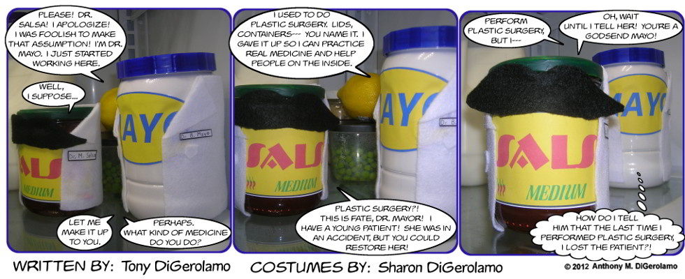 As the Mayo Turns:  Plastic Lid Surgery