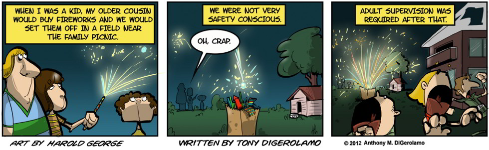 I Hate My Kids:  Kids and Fireworks