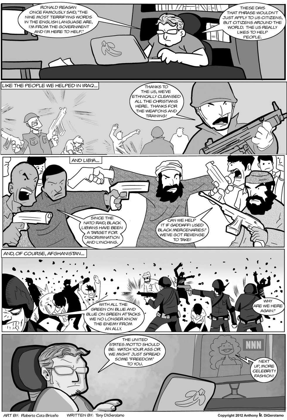 The Antiwar Comic:  The Consequences of Help
