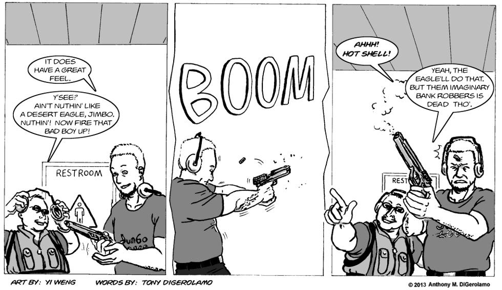 Gun Culture:  Shell Game
