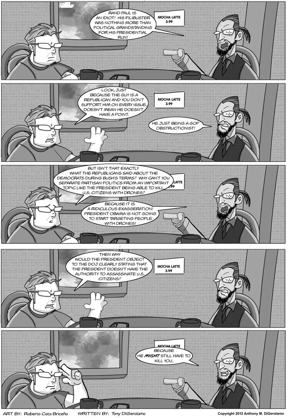 The Antiwar Comic: The Drone Debate
