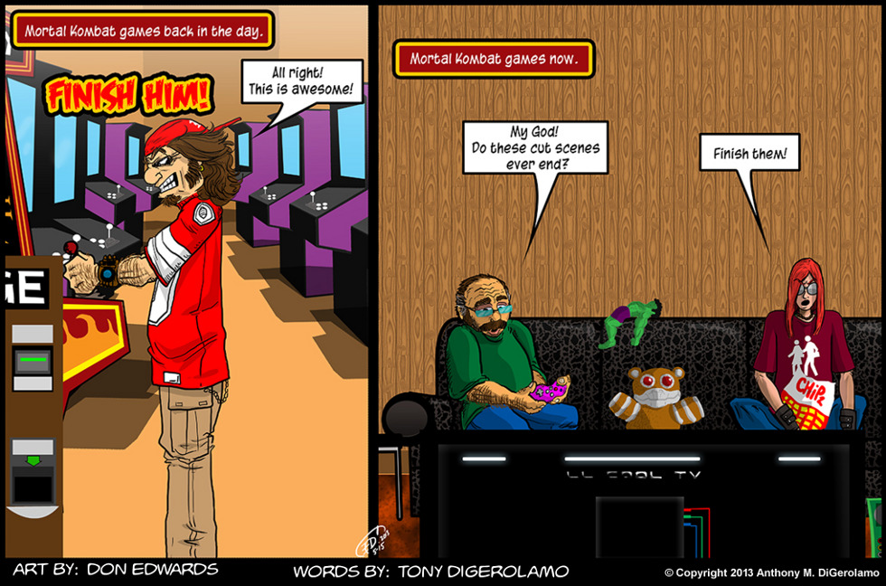 Olde Tyme Gamer:  MK Then and Now