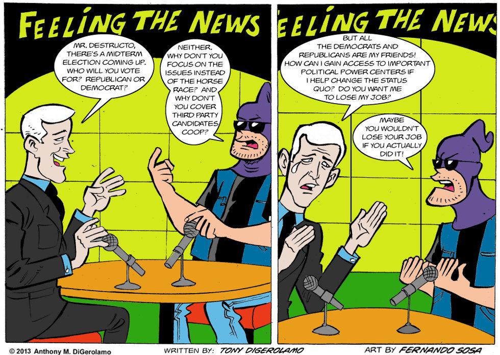 Tony Destructo:  The Network Likes to Network