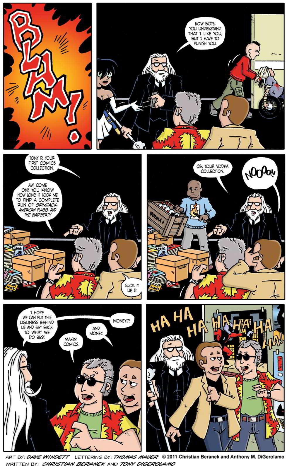 Comic Book Mafia #64:  Retribution