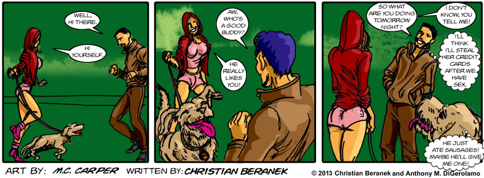 In A Relationship:  The Dog Test