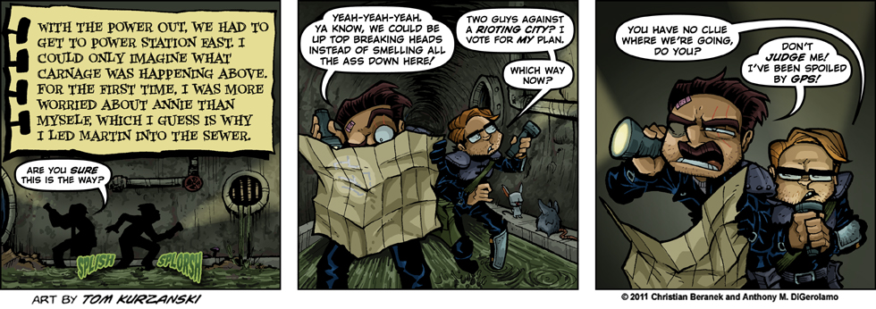 Post Apocalyptic Nick #42:  Sewer Quest