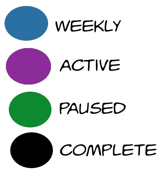 Comic Color Key