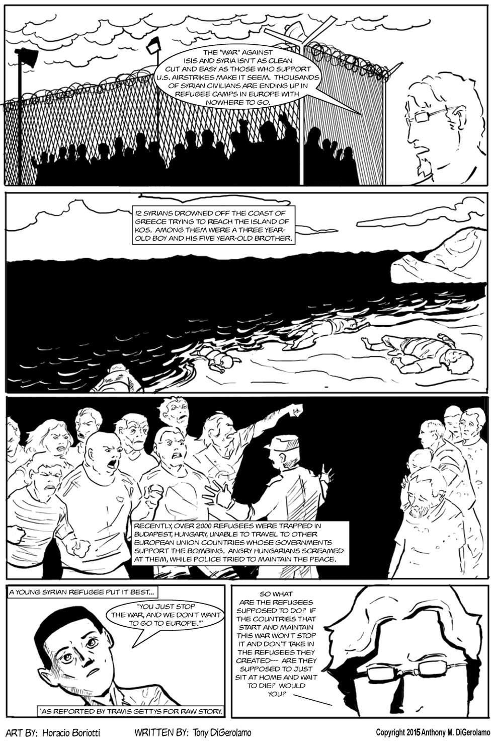 The Antiwar Comic:  Ignoring the Cause