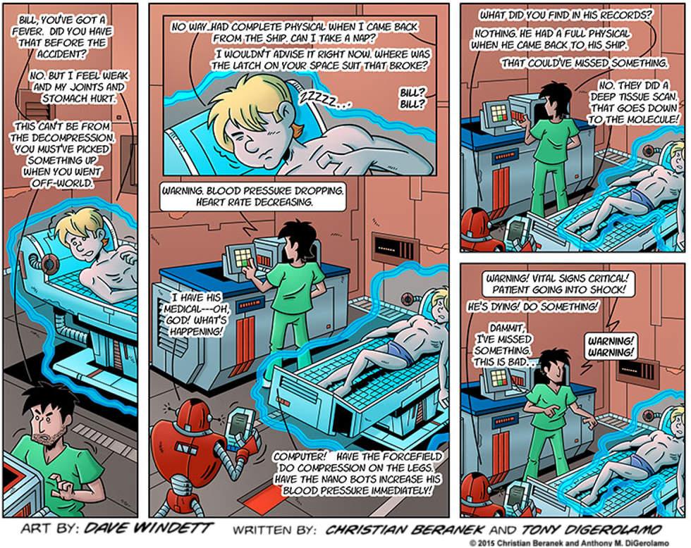 Intergalactic Medical Doctor:  Watch the Vitals