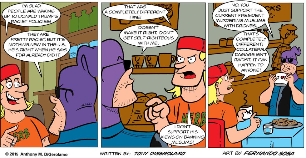 Tony Destructo:  Hypocrite Herb