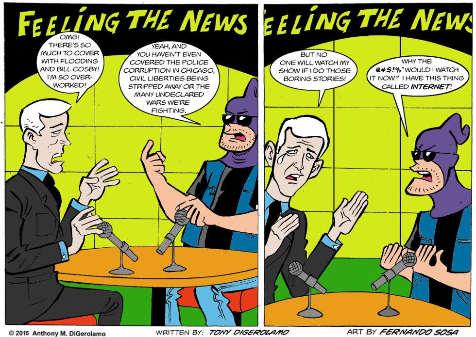 Tony Destructo:  The News Cycle