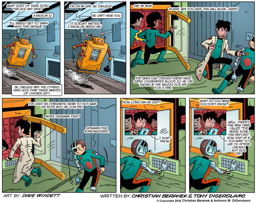 Intergalactic Medical Doctor:  Makeshift Rescue