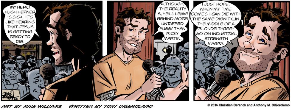 Miserable Comedians:  The Sick Hero