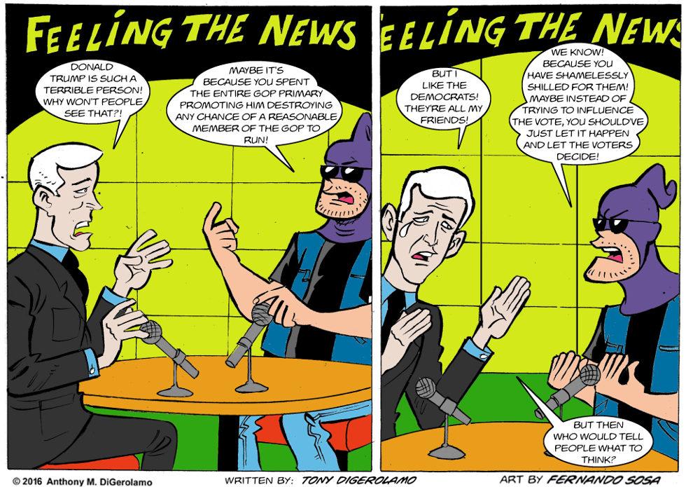 Tony Destructo:  The Media Just Wants to Help