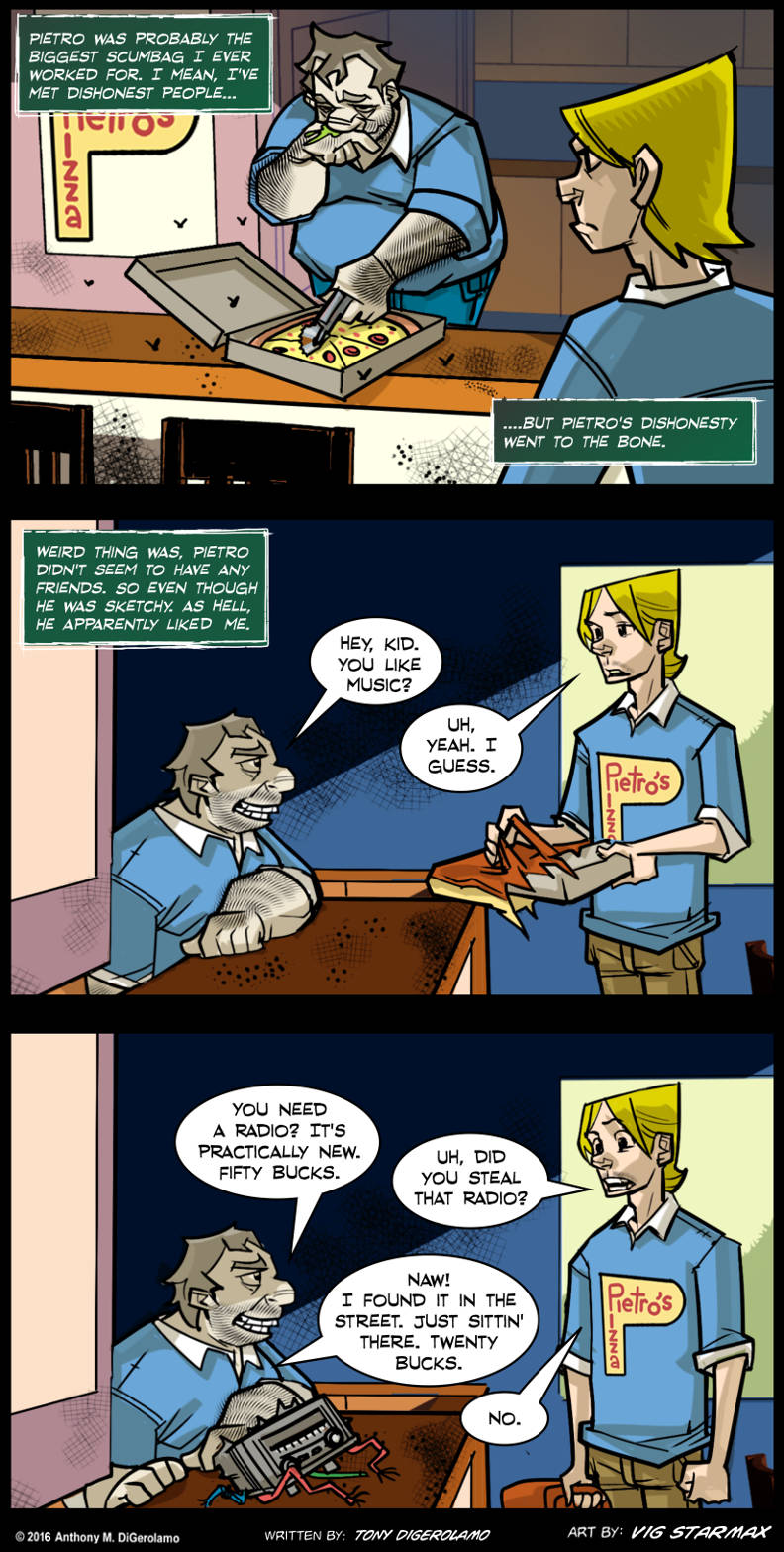 Tales of Pizza:  Bad Pizza Boss