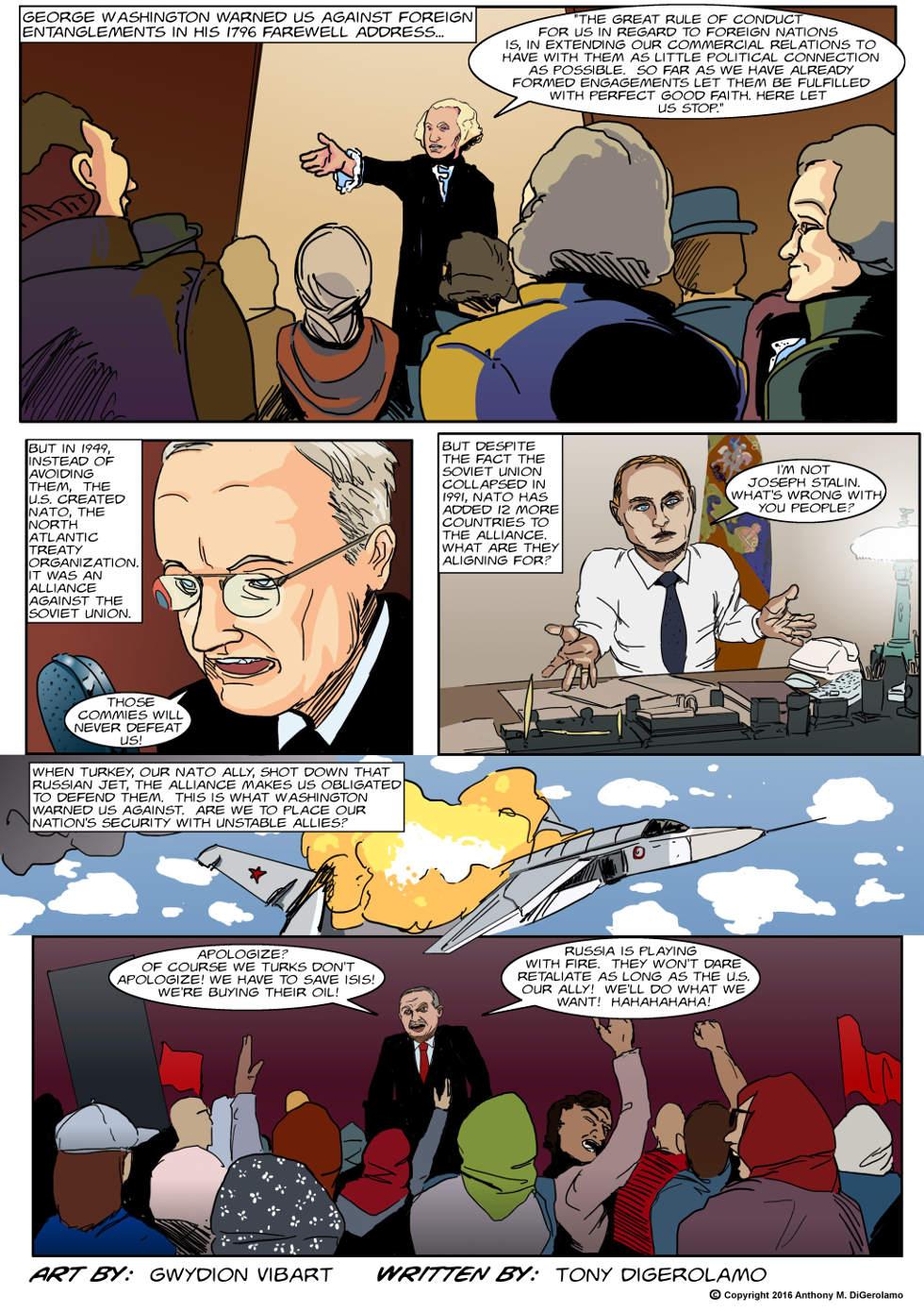 The Antiwar Comic:  Entangling Alliances