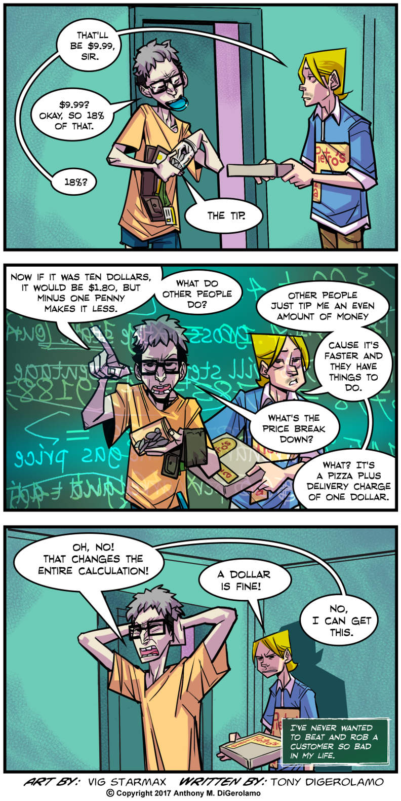 Tales of Pizza:  Math Whiz
