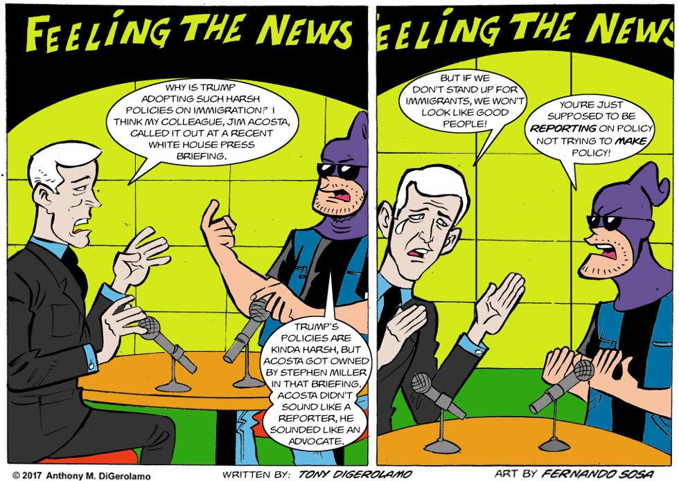 Tony Destructo:  Reformer or Reporter