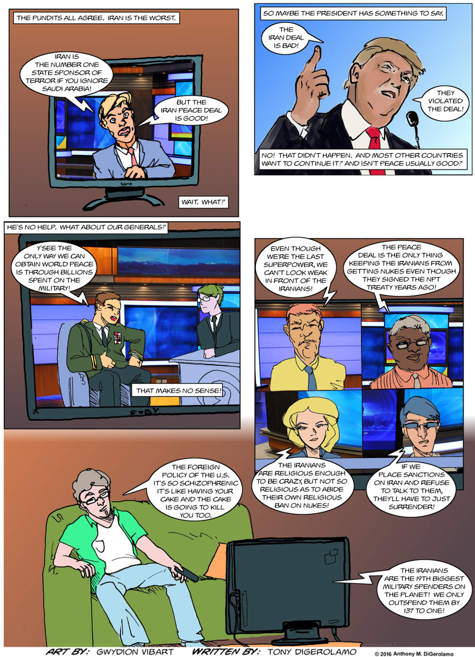 The Antiwar Comic:  Talking Out of Both Sides