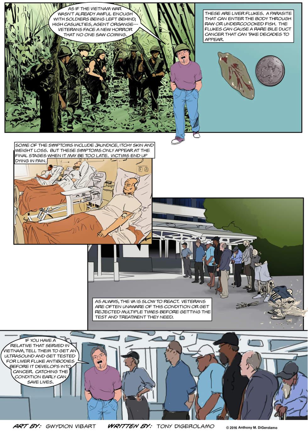 The Antiwar Comic:  The Vietnam Fluke