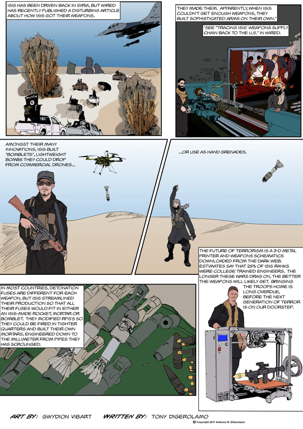 The Antiwar Comic:  ISIS, The Next Generation