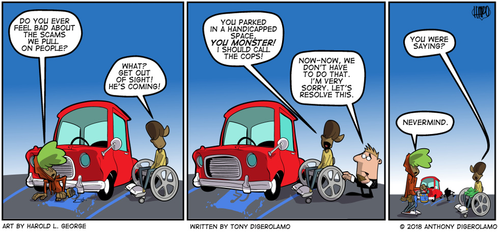 I Hate My Kids:  Handicapped Morals