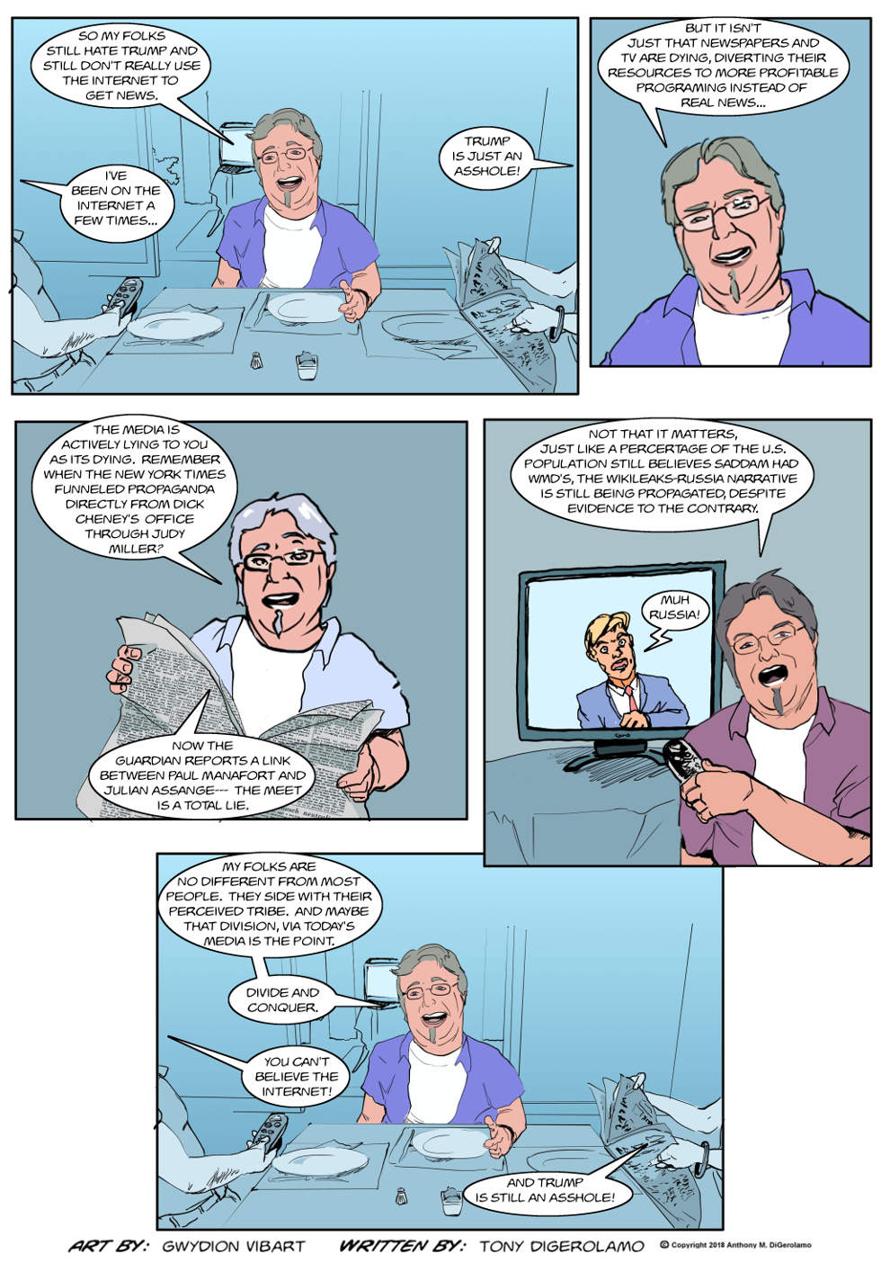 The Antiwar Comic:  The Perceived Narrative