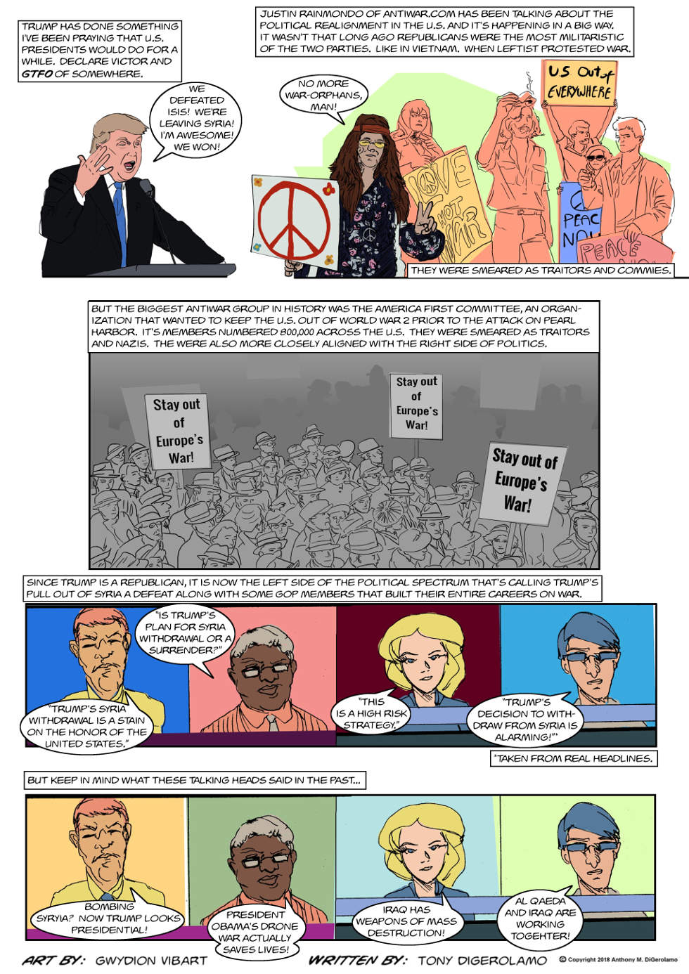 The Antiwar Comic:  The Realignment