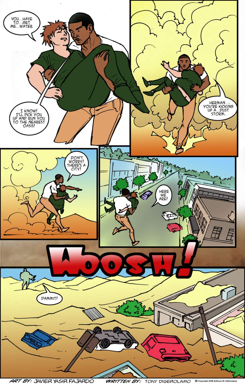 Herman Has Superpowers:  Dust Storm Herman