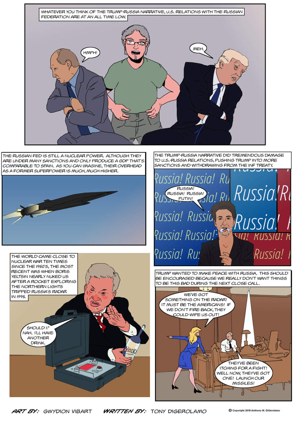 The Antiwar Comic:  The Stakes Are High