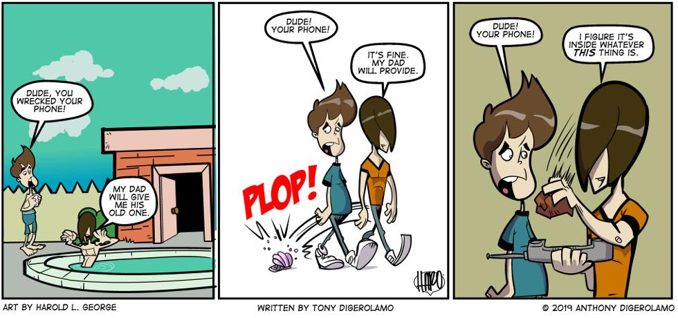 I Hate My Kids: Phone De-Evolution