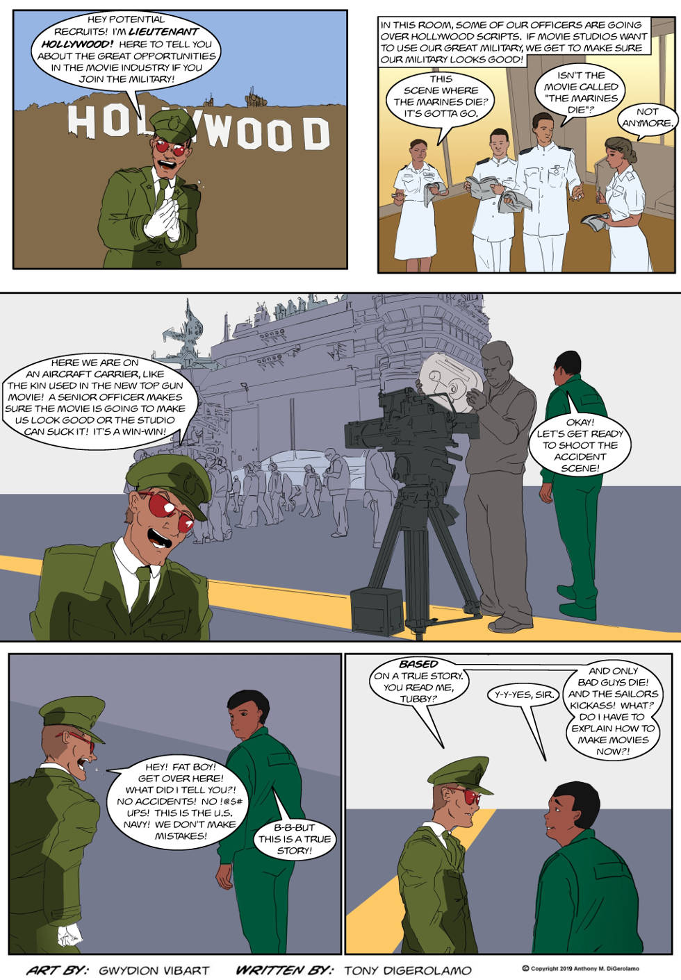 The Antiwar Comic:  There's No Business Like The Military