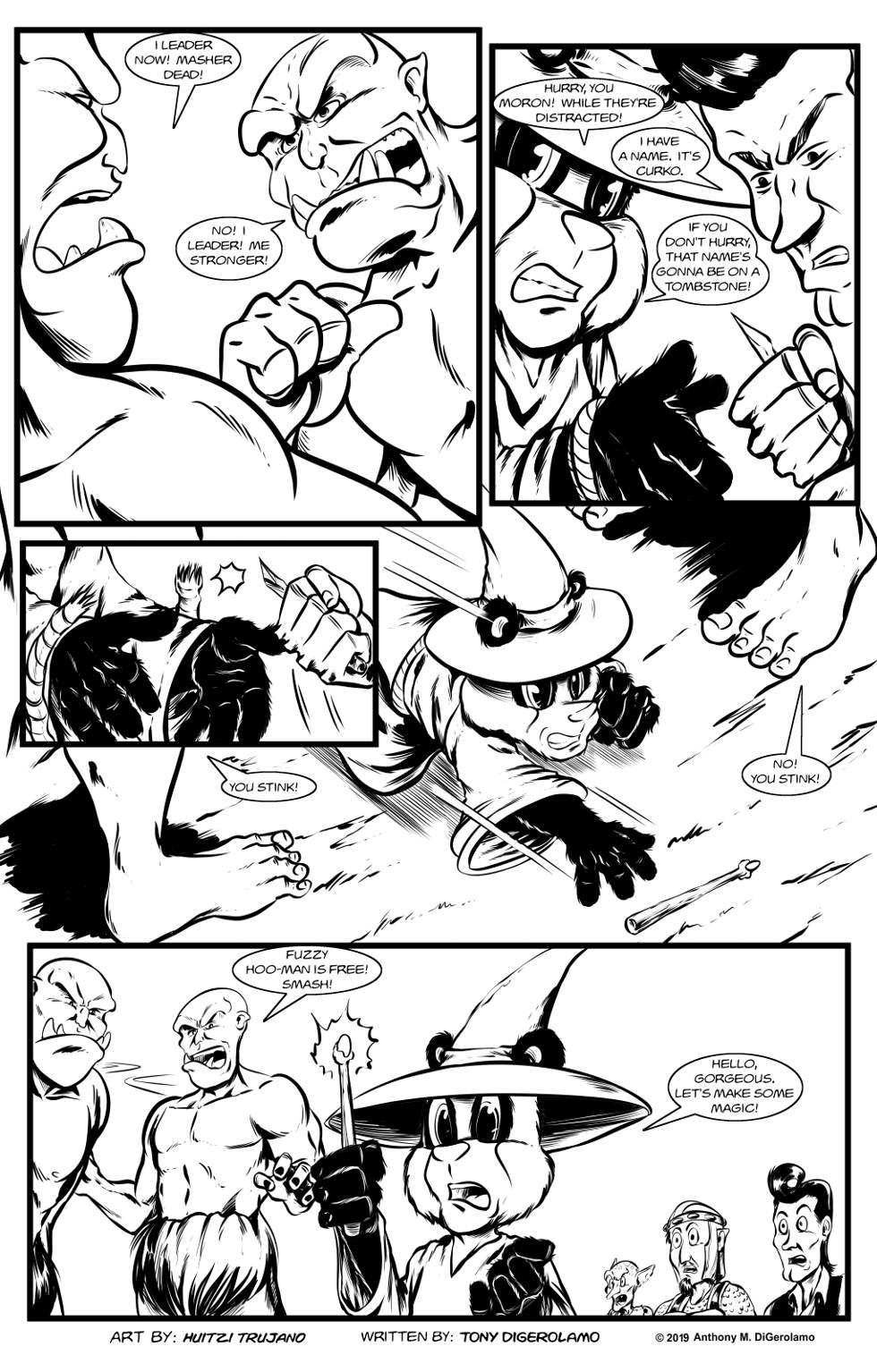 Pandamodium:  The Orc Distraction
