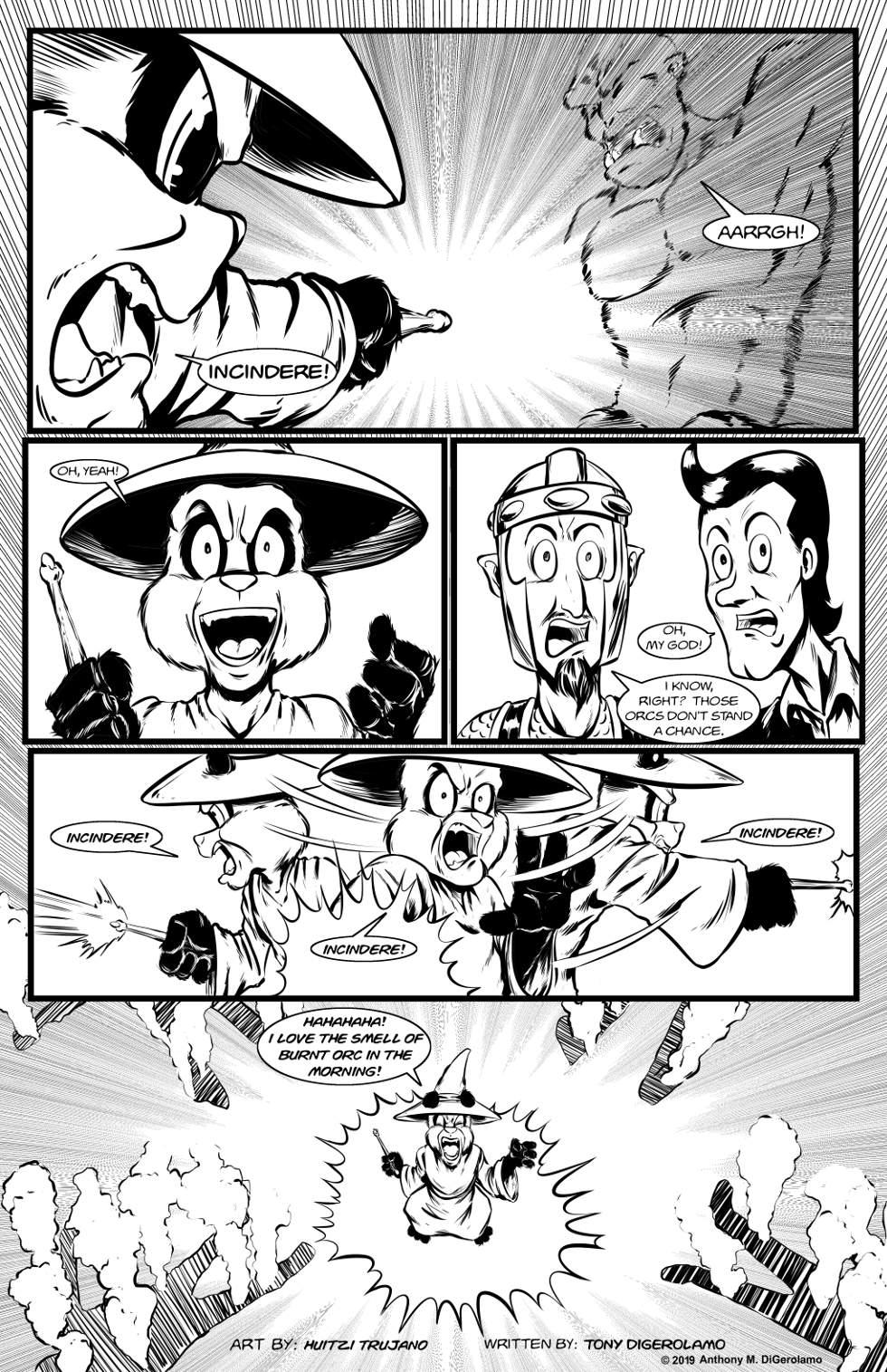 Pandamodium:  A Taste of Power