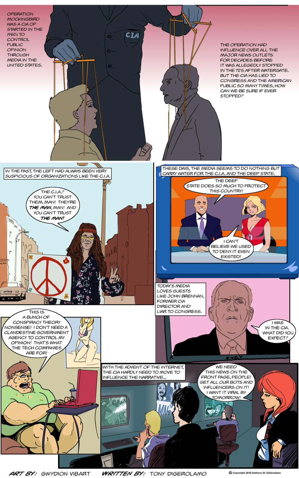 The Antiwar Comic:  The Influencers