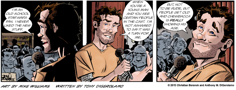 Miserable Comedians:  Old School Star Wars