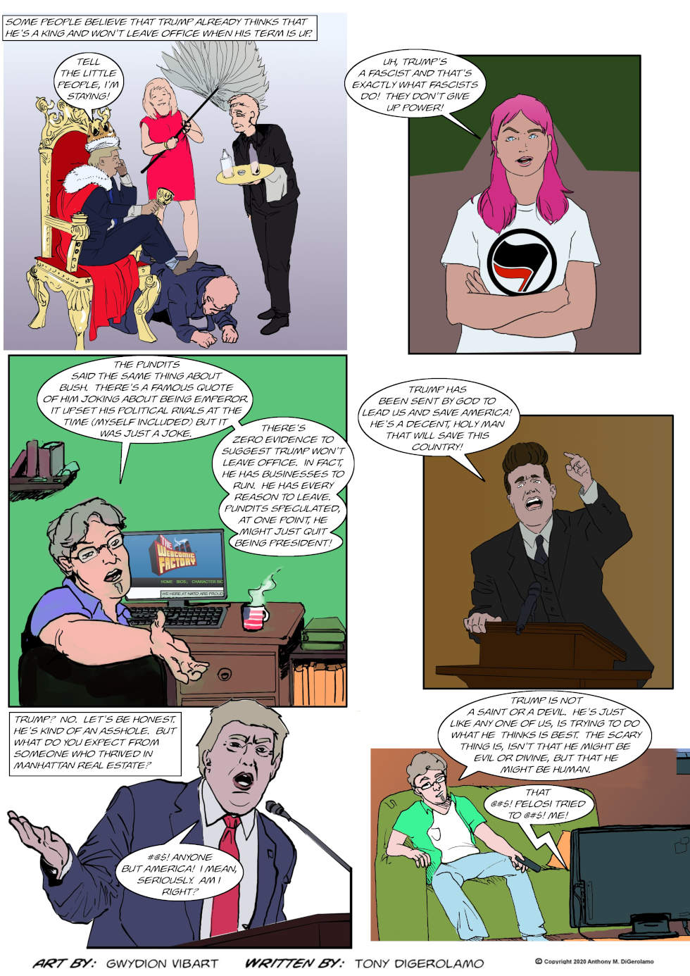 The Antiwar Comic:  What is Trump?