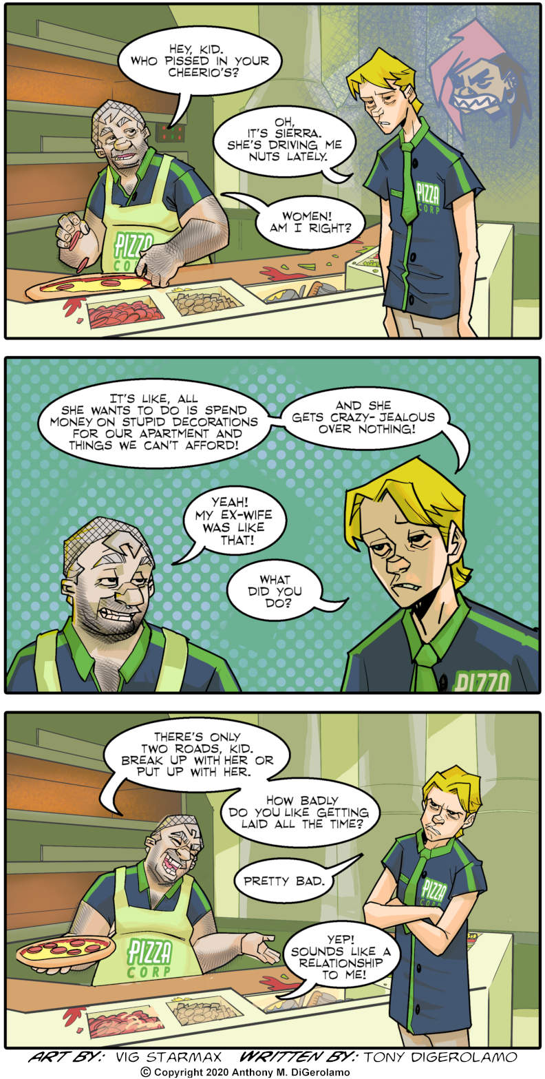 Tales of Pizza:  Advice From the Pizza Man