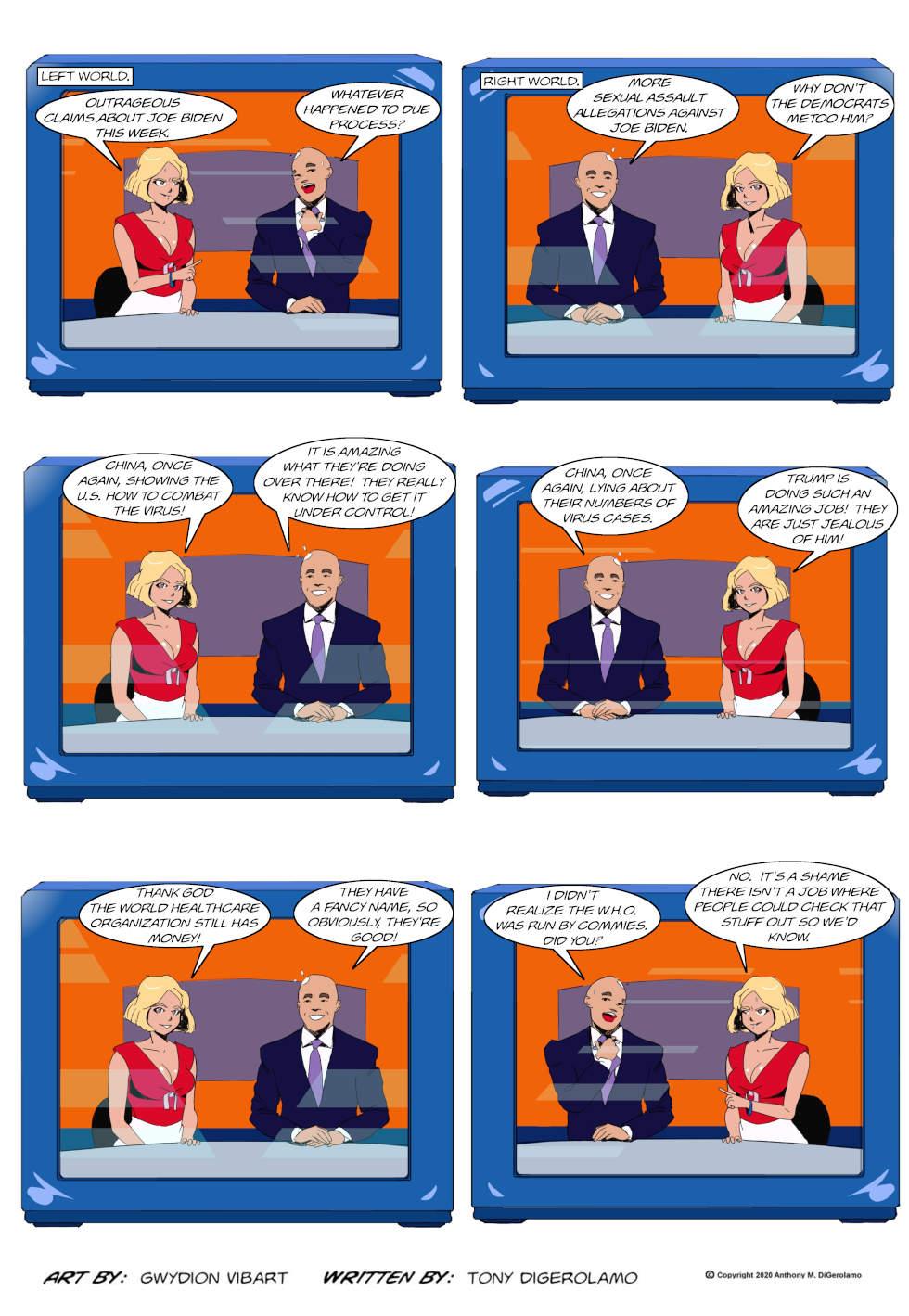 The Antiwar Comic:  The Information War